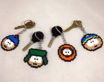 South Park Keychain - Perler Bead