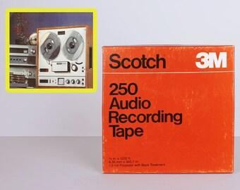 3M Scotch 1/4 250 audio reel to reel tape  NOS