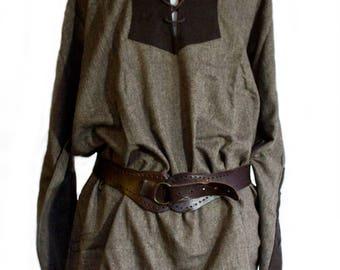 Light weight Tunic Brown, Grey