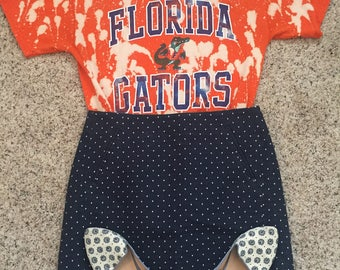 Florida Gators Acid Wash Tee