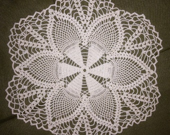 Hexagon doily 10in