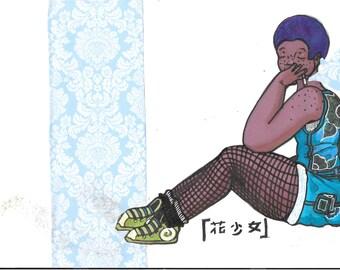 Hana Shoujo Poster