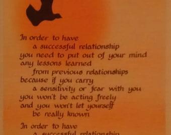 1980 Blue Mountain Arts Thoughts of Life Susan Polis Schutz Greeting Card