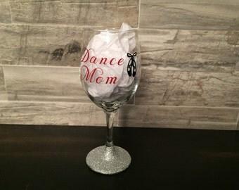 Dance Mom 21 oz. wine glass