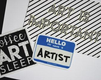 Art Is Important - Print 4x6