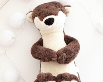 Otter soft plush toy stuffed animal