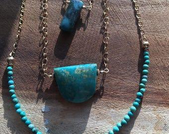 Mini Turquoise Necklace
