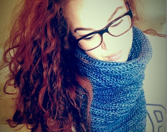Cozy Cowl Crochet Scarf