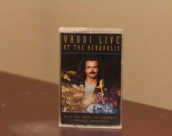 YANNI Tape Contemporary Instrumental Cassette Tape Music Vintage 1994 Yiannis Chryssomallis