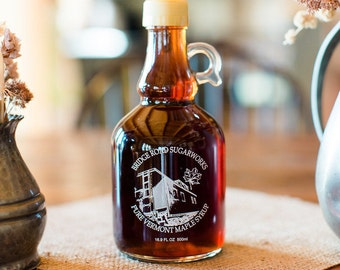 Pure Vermont Dark Maple Syrup