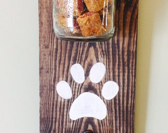 Dog Treat & Leash Holder