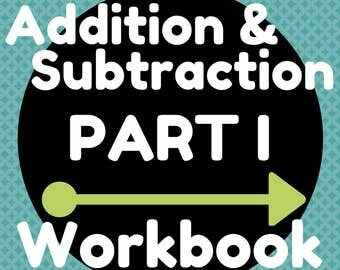 Workbook (11 Pages) Two-Digit Whole Number Addition and Subtraction (Combinations up to 9)