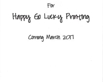 Upcoming Printables Shop!