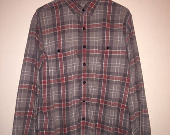 90s flannel shirt etsy for Mens 4xlt flannel shirts