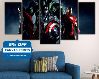 Captain America Wall Art dc comics wall art captain america quote wall art superhero