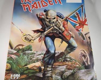 Iron Maiden *** First Four 4 Albums *** Rock Guitar Tab Music Book Songbook | 1984