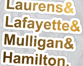 Hamilton Laptop Sticker!