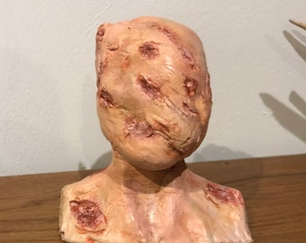 Horror Bust For Painting