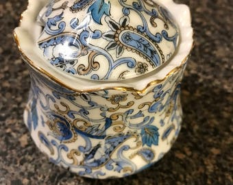 Vintage Lefton China Sugar Bowl