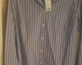 Banana Republic women tailored shirt