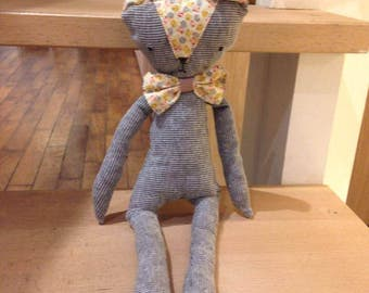 Henry, the handmade cuddly toy