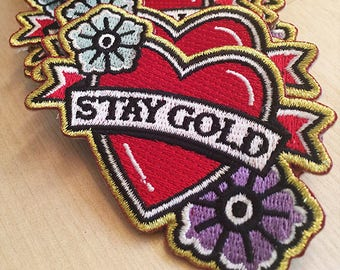Stay Gold Iron-on Patch