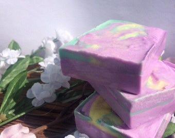 Tropical Plumeria Natural Cut Melt and Pour Soap