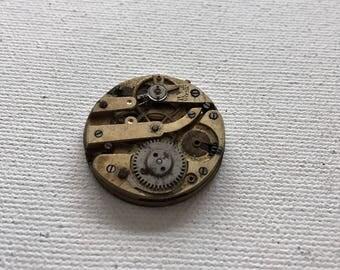 Steampunk vintage watch movement