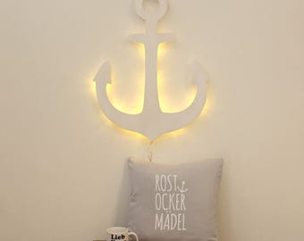 Kids slumber lamp Wall lamp anchor (M2036)