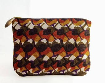 """""""Japanese"""" zippered pouch"""