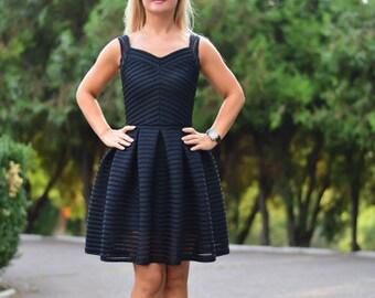 Little Black Compact Dress