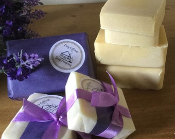 Organic soap - relaxing lavender
