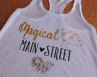 Magical Main Street Racerback Tank!