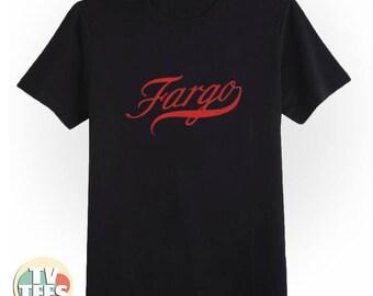 FARGO Logo Tee Shirt in Black and White