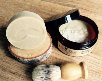 Shaving for men, Badger, shaving SOAP, Shaving kit, goat milk SOAP
