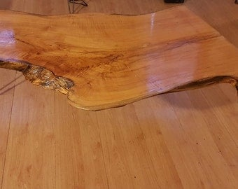 Maple Natural Edge Coffee Table