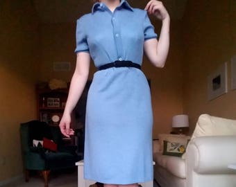 Vintage Blue 1960's day dress