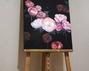 1.Flowers in the dark