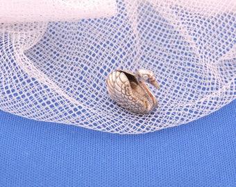 Dutch Silver Miniature antique silver 835 Zwaantje