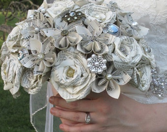 Embellished Paper Flower Bouquet