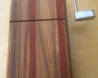 Handcrafted of Red Gum and Bloodwood