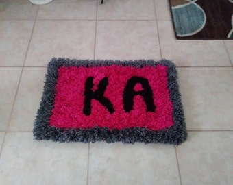 Soft and fluffy handmade rugs
