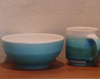 Bowl, landcape collection