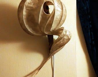 Sea Breeze - Sculpture of Light - paper lamp on drift wood