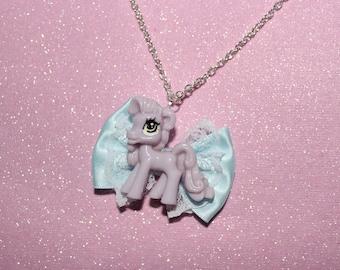My Little Pastel Pony Necklace