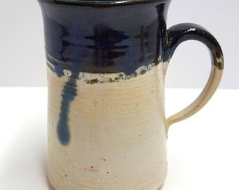 "Father's day, hand thrown pottery coffee mug the ""Steiny"""