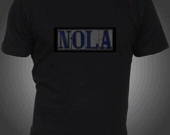 New Orleans  -NOLA  illuminated shirt - Men and Women sizes