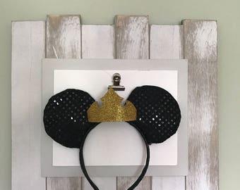 Princess Aurora Inspired Themed Mickey Ears, Minnie Ears, Sleeping Beauty