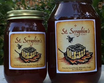 St. Seraphim's Raw Honey