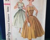 Vintage Simplicity 2033 dress size 16 bust 36